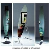 Espejo de seguridad con respaldo de vinilo