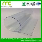 Супер четкий и прозрачный ПВХ/Vinly лист используется для таблицы ткани, Окно и защитные