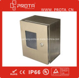 Stainless impermeabile Steel Distribution Box Mount Enclosure con Plexiglass Door