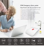 Système d'alarme d'urgence GSM avec capteurs de vitre de porte de l'Internet WiFi GSM APP de sécurité du système d'alarme d'accueil de la télécommande pour les personnes âgées