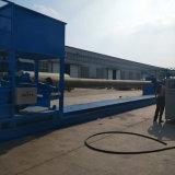 El FRP GRP automático tubo bobinado Semi-automático máquina utilizada en el petróleo, química, textil, imprimir y colorear