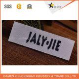 編まれたカスタムファブリック札の付着力の衣服のラベルの印刷のロゴのステッカー