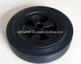 8x2 polegadas jante de plástico de pneus de borracha maciça