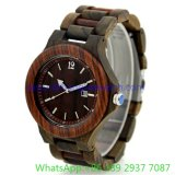 Hihg-Quality Wooden Watches, Man와 Woman (15163)를 위한 Quartz Lovers Watch