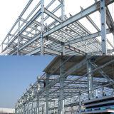 Costruzione della struttura d'acciaio di prefabbricazione per il workshop