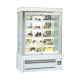 Automatici perfetti disgelano il frigorifero di lusso della visualizzazione della torta del sistema