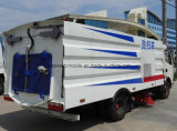6 sabbia della spazzatrice di via delle rotelle 6500L e camion di pulizia della polvere