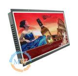 19 Zoll Innen-HD LCD geöffneter Rahmen-DigitalSignage bekanntmachend