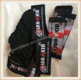 Étiquette tissée par coutume privée de polyester
