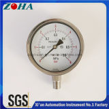 Ss диаметром 4 дюйма измеритель давления с радиальным направлении