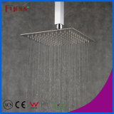 Fyeer Ultra fin mince en acier inoxydable Rainfall Shower Douchette carrée (QH325AS)