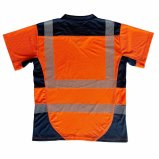 Maglietta riflettente di alta visibilità del nastro di scambio di calore
