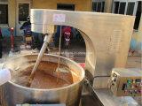 Grandi carne/minestra che cucina la caldaia del rivestimento