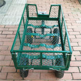 Outil de maillage de pliage Heavy Duty panier Chariot de jardin