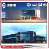Compuesto de aluminio Panel/ACP (AE-36A del poliester de Ideabond azules claros)