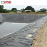 Exploração piscícola Pond Camisa geomembrana de HDPE