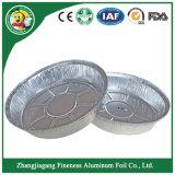 Conteneur de la plaque du bac d'aluminium pour barbecue