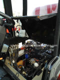 908 08 Quickhitch를 가진 기계적인 조이스틱 4X4 800kg 바퀴 로더