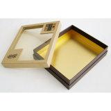 Contenitore su ordinazione di cioccolato del vino dei monili del regalo del documento del cartone