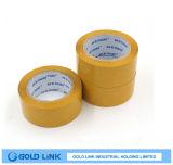 El adhesivo amarillo BOPP Junta cinta adherida en el envase y embalaje
