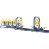 CNCの補強のRebarのケージの溶接機