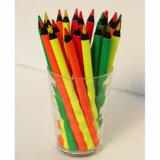 Crayons de plomb au néon, Neon taille Jumbo Crayons de couleur avec les marques d'impression personnalisée