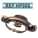 Цинкового сплава классической мебелью кабинет ящика вытянуть ручки (HP006)