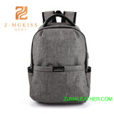 Moda simple Mochila para portátil bolsa para la escuela y el trabajo informal