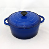 鋳鉄のダッチオーブンの三本足の鍋