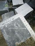 私道、正方形、テラスPavingsのための自然な真黒の玉石