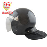 La sécurité de la police Anti-Riot casque avec visière PC