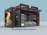 옥외 전시 Euipment 소매 간이 건축물 (HS-020)