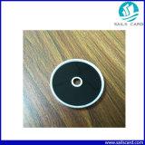 Etiqueta de patrulha de RFID de 34mm com um orifício Tag NFC para sistema de Patrulha
