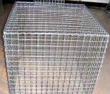 Contenitore rivestito di PVC Gabion/rete metallica esagonale