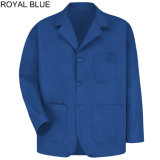 Mélange de polyester coton Men's Lapel Workwear manteaux de compteur