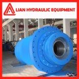 Cylindre hydraulique de plongeur d'énergie hydraulique avec le de piston tige en acier modifié