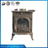 OEMの餌の非常に熱い暖炉の鉄によって投げられる砂型で作る木製のストーブ