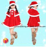 Falda de las muchachas y ropa de Thickend de los niños del juego de los muchachos para la Navidad