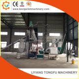 1 ton/h el funcionamiento completamente automático de la planta de pellets de madera