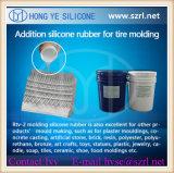 Reifen-Form, die Silikon-Gummi bildet