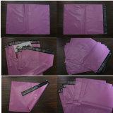 Recicl o saco poli do envelope da cor vermelha