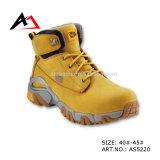 Safety di cuoio Shoes Rubber Boots per Men Shoe (AKAS5220)