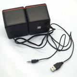 USBの携帯用小型騒々しいモバイル・コンピュータのスピーカーの健全なボックス