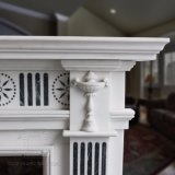 Estilo Inglês de alta qualidade lareira de mármore T-4983