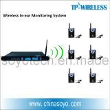 sistema simultâneo da interpretação 2.4G para a reunião
