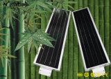Lampe solaire automatique de détecteur de mouvement de lumens élevés avec la batterie au lithium