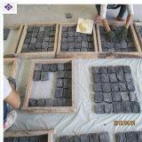 옥외 정원 훈장을%s Shanxi 자연적인 까만 화강암 포석