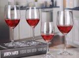 Vetro di vino Stemless spesso di salute di sicurezza, calice del policarbonato