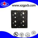 4 Schichten Fr4 Schaltkarte-mit schwarzer Lötmittelschablone und Enig