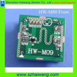 Módulo del sensor de microondas 10.525GHz Arduino Motion Detector de radar Doppler (HW-M09)